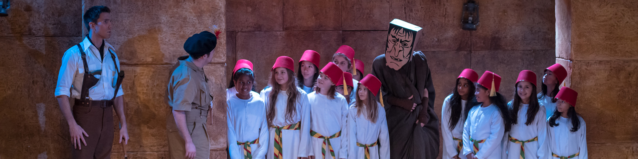 The Children's Chorus in The Magic Flute