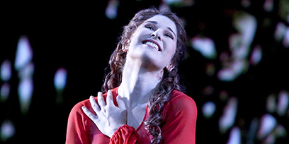 Nicole Car as Tatyana in Eugene Onegin