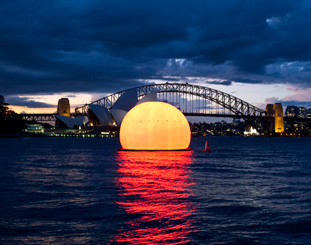 Handa Opera on Sydney Harbour 2014 - Sun