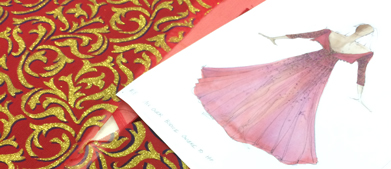 Prints charming: making the Rigoletto costumes