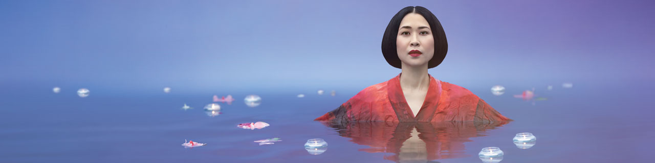 Hyeseoung Kwon as Cio-Cio-San in Madama Butterfly