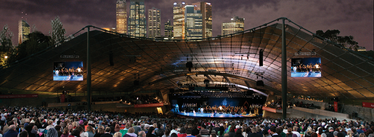 Opera Australia - Mazda Opera in the Bowl