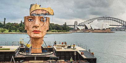 Aida on Sydney Harbour in numbers