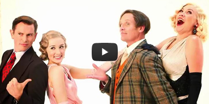 Meet the characters (behind the scenes at the Anything Goes photo shoot)