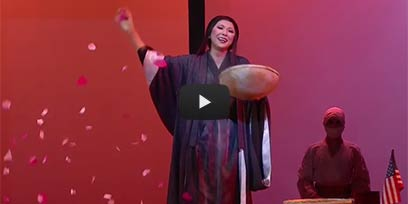 Hiromi Omura stars as Cio-Cio San in Madama Butterfly