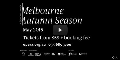 Melbourne Autumn season trailer