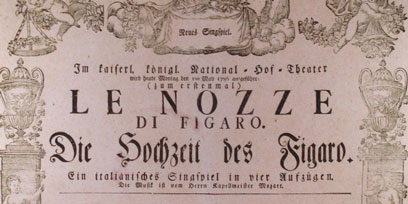 Cheat sheet: The Marriage of Figaro