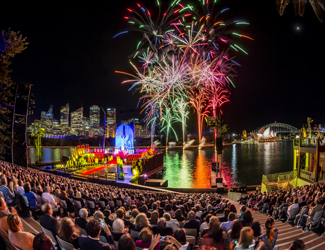 Handa Opera on Sydney Harbour - Aida opening night