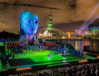 Handa Opera on Sydney Harbour - Aida, Opening Night