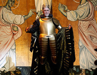 Giacomo Prestia performs the role of Philip II in Opera Australia's Don Carlos.
