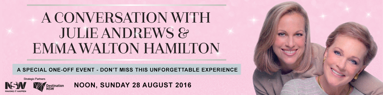 A Conversation with Julie Andrews & Emma Walton Hamilton