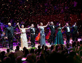 The Opera Gala on New Year's Eve