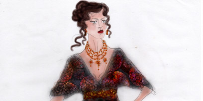 Teresa Negroponte's costume designs for Carmen