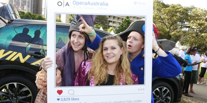 Mazda Opera in the Domain 2016