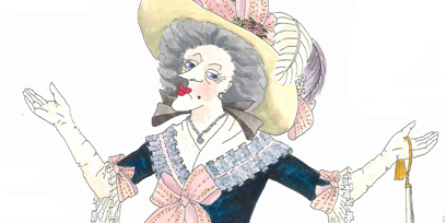 Robert Kemp's costume designs for The Marriage of Figaro