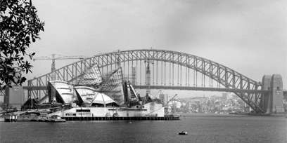See photos from the construction of the Sydney Opera House