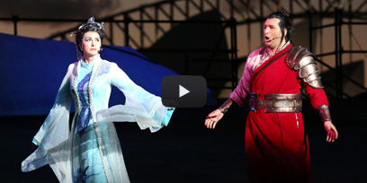 Watch the trailer for Turandot on Sydney Harbour