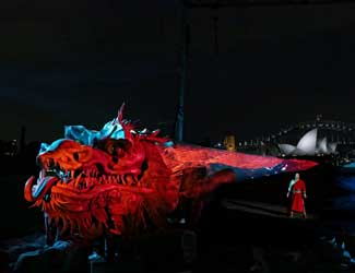 Turandot Handa Opera on Sydney Harbour stage reveal
