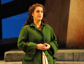 Natalie Aroyan as Amelia Grimaldi in Opera Australia's production of Simon Boccanegra at Sydney Opera House.