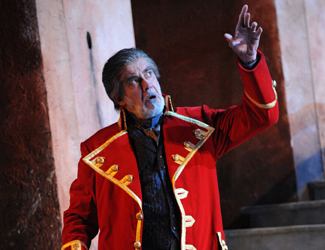 Giacomo Prestia as Jacopo Fiesco in Opera Australia's production of Simon Boccanegra at Sydney Opera House.
