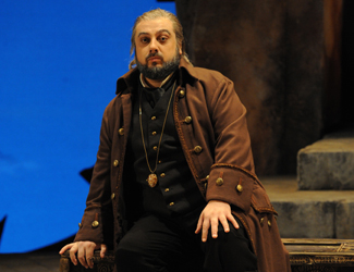 George Petean as Simon Boccanegra in Opera Australia's production of Simon Boccanegra at Sydney Opera House.