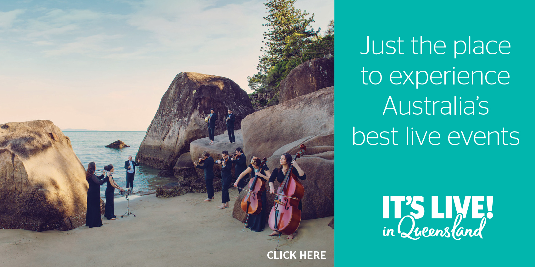 See Australia's best live events in Australia's best destinations.
