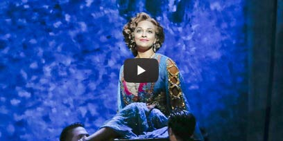 Danielle de Niese stars as Hanna in The Merry Widow