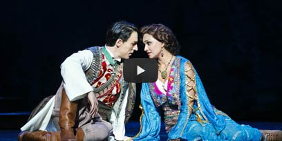 Danielle de Niese stars as The Merry Widow