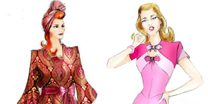 See Tim Chappel's costume designs