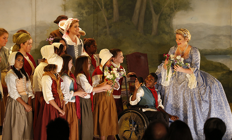 The Childrens Chorus in The Marriage of Figaro