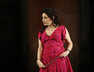 Rinat Shaham as Carmen in Opera Australia's 2017 production of Carmen. Photo by Jeff Busby