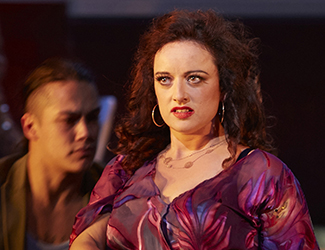 Clémentine Margaine performs the title role in Opera Australia's production of Carmen.