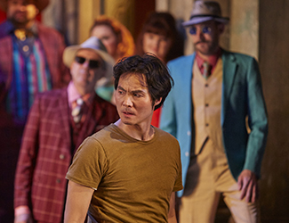 Yonghoon Lee performs the role of Don José in Opera Australia's production of Carmen.