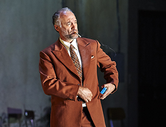 José Carbó as Alfio in Cavalleria Rusticana. Photo by Keith Saunders