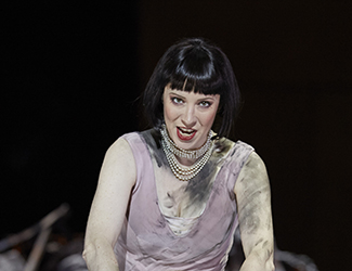 Lorina Gore as Roxana in Opera Australia's King Roger. Photo by Keith Saunders