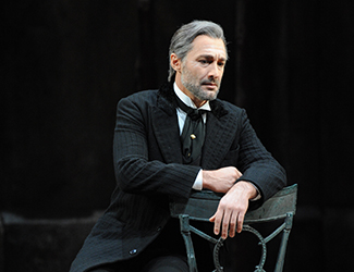 José Carbó as Giorgio Germont in Opera Australia's La Traviata. Photo by Branco Gaica