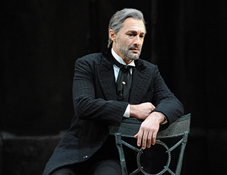 José Carbó as Giorgio Germont, in Opera Australia's 2013 production of La Traviata. Photo by Branco Gaica