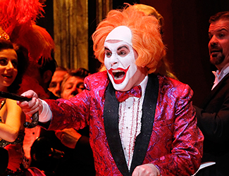 Production image of Rigoletto at the Sydney Opera House