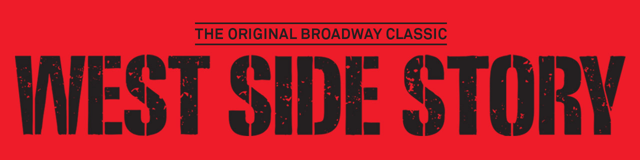 The logo of West Side Story