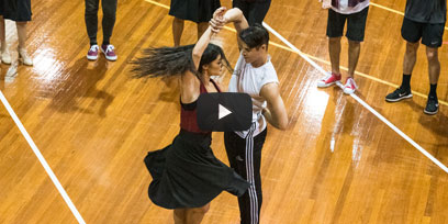 See inside rehearsals for West Side Story on Sydney Harbour