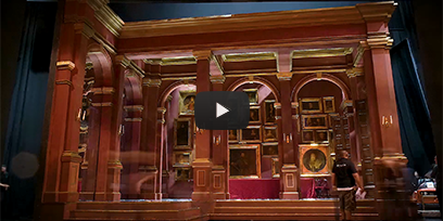 Watch the revolving set of Rigoletto