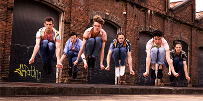 See the first photos of the Jets in West Side Story