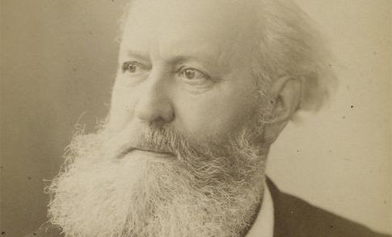 Portrait of the composer Charles-Francois Gounod