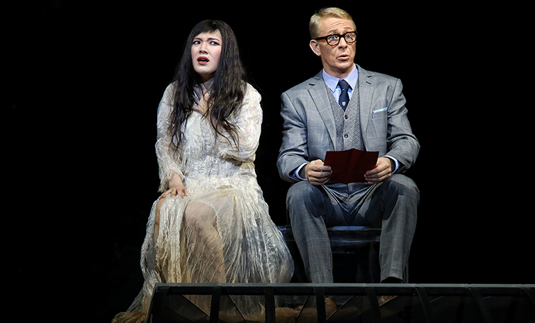 Karah Son and Michael Honeyman in Madama Butterfly