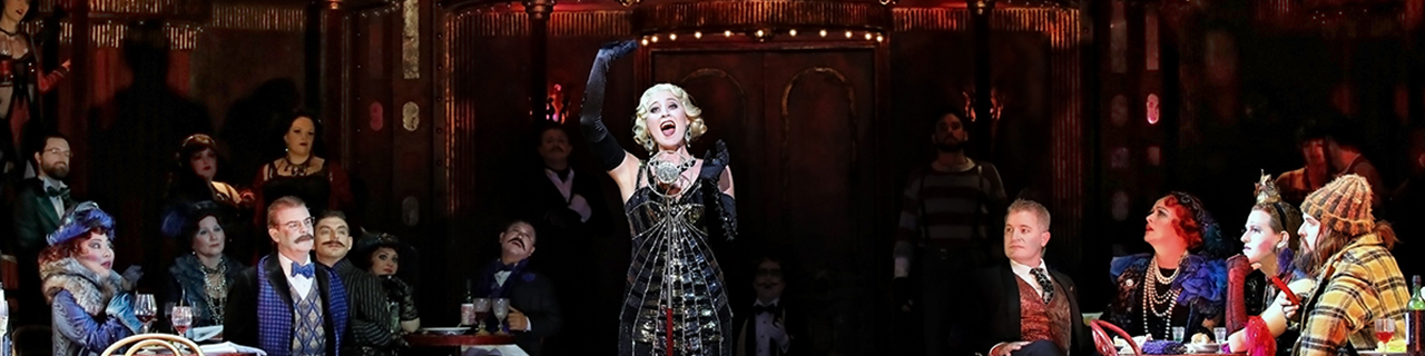 Julie Lea Goodwin as Musetta in La Boheme