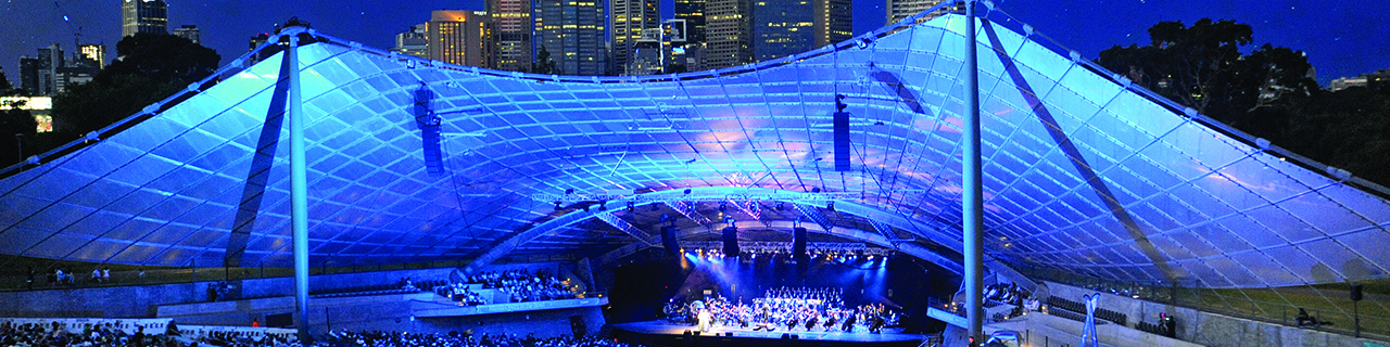 Opera for the People at the Sidney Myer Music Bowl in Melbourne