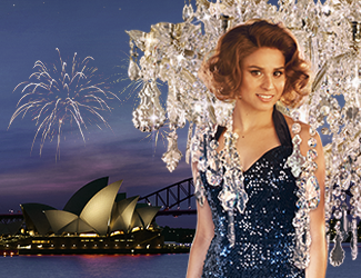 Stacey Alleaume in La Traviata on Sydney Harbour