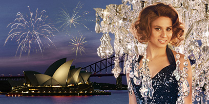 Stacey Alleaume as Violetta Valery in La Traviata on Sydney Harbour