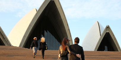 Going to Sydney Opera House