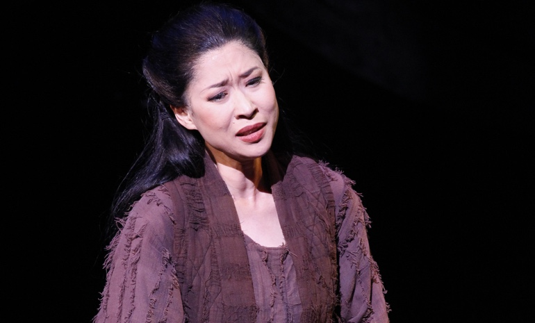 Mariana Hong as Liu in Turandot